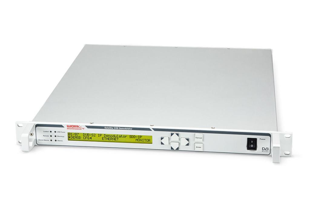 DVB-S2 IP Demodulator