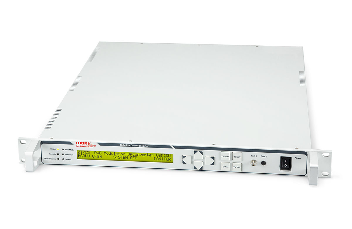 DVB Satellite Modulator Upconverter